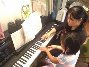 北山で出張ピアノ教室!