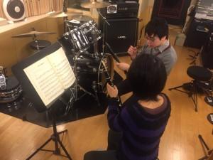 JR京都で出張クラリネット教室!