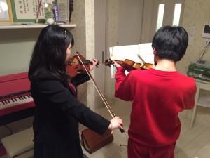 宝塚で出張バイオリン教室!