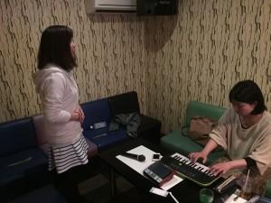 天王寺で出張ボーカル・ボイトレ教室!