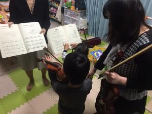夙川で出張バイオリン教室!