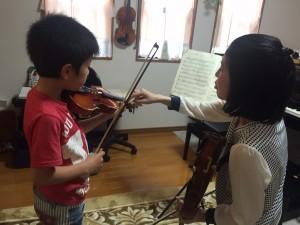 枚方市で出張バイオリン教室!