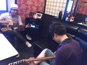 茨木市で出張エレキギター教室!!