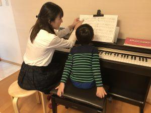 徳庵で出張ピアノ教室!