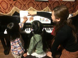 桜井で出張ピアノ教室!