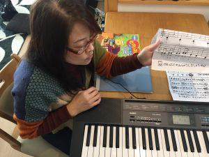 津田で出張ピアノ教室!