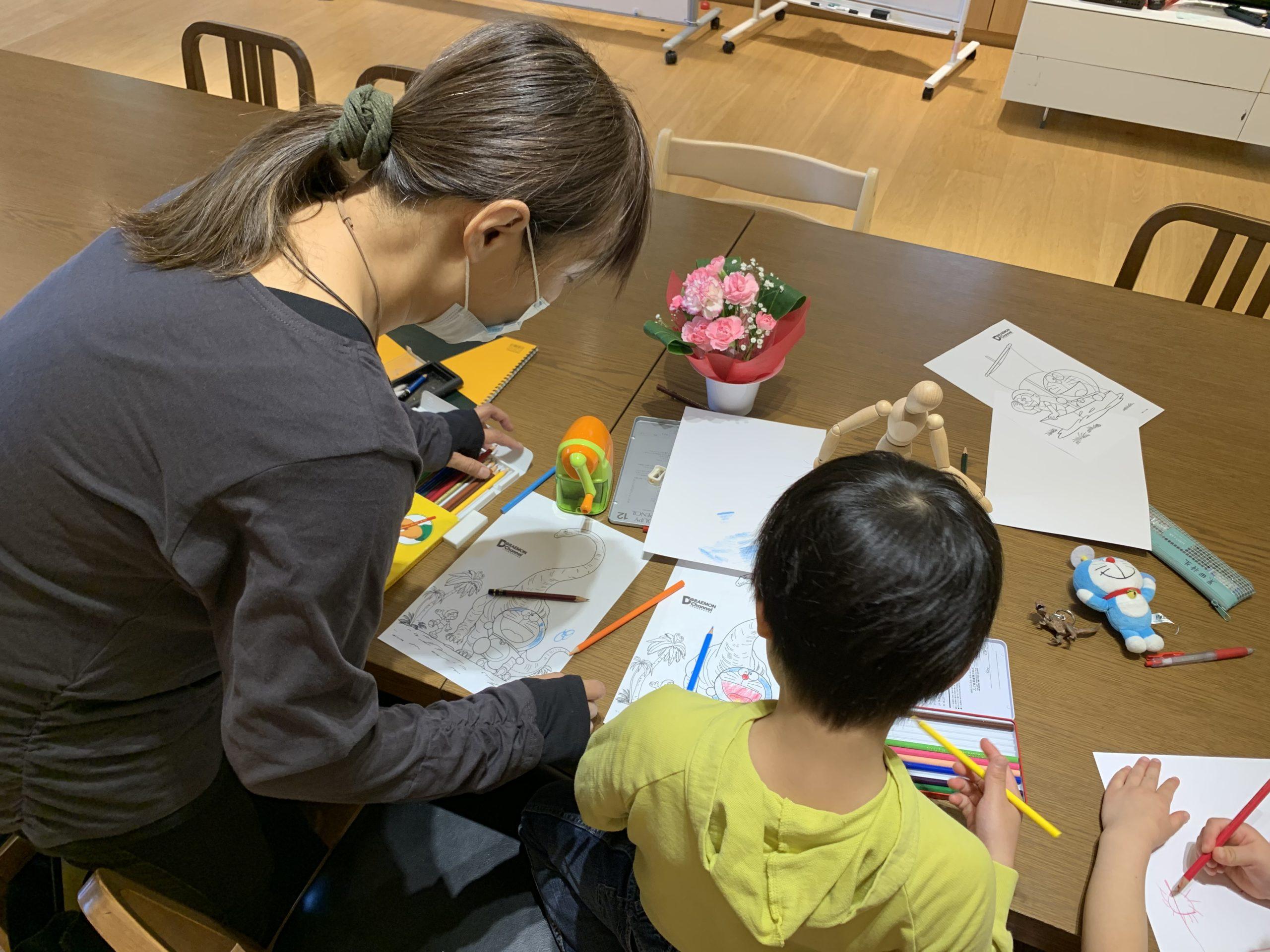 森之宮絵画教室の体験レポ