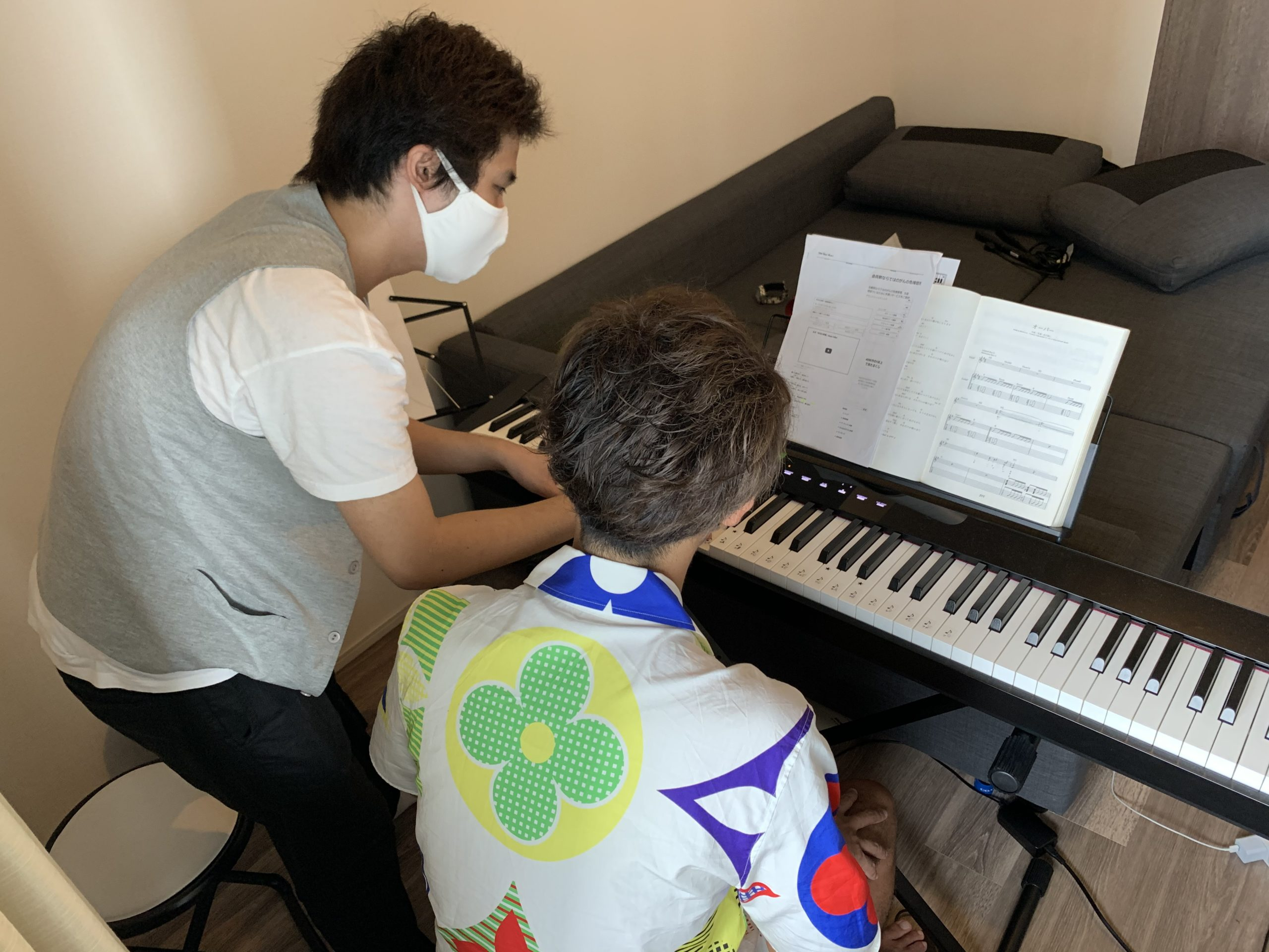 梅田で主張ピアノ&ボイトレ教室