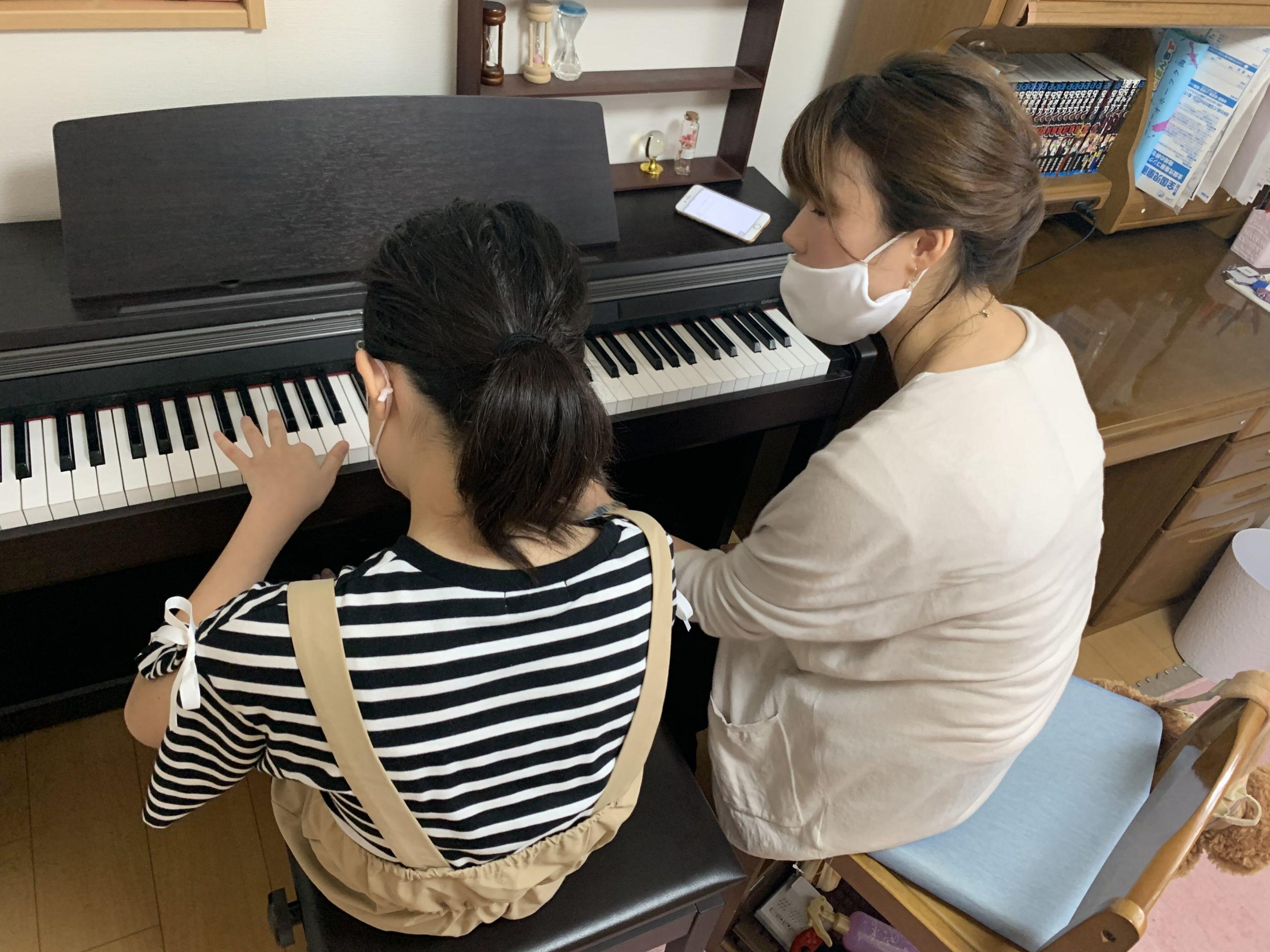 上新庄で主張ピアノ教室