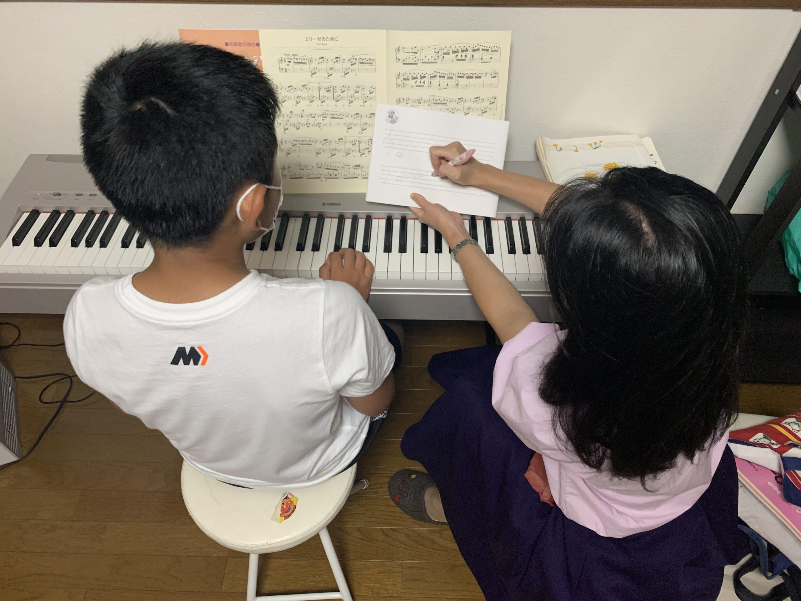大石ピアノ教室の体験レポ