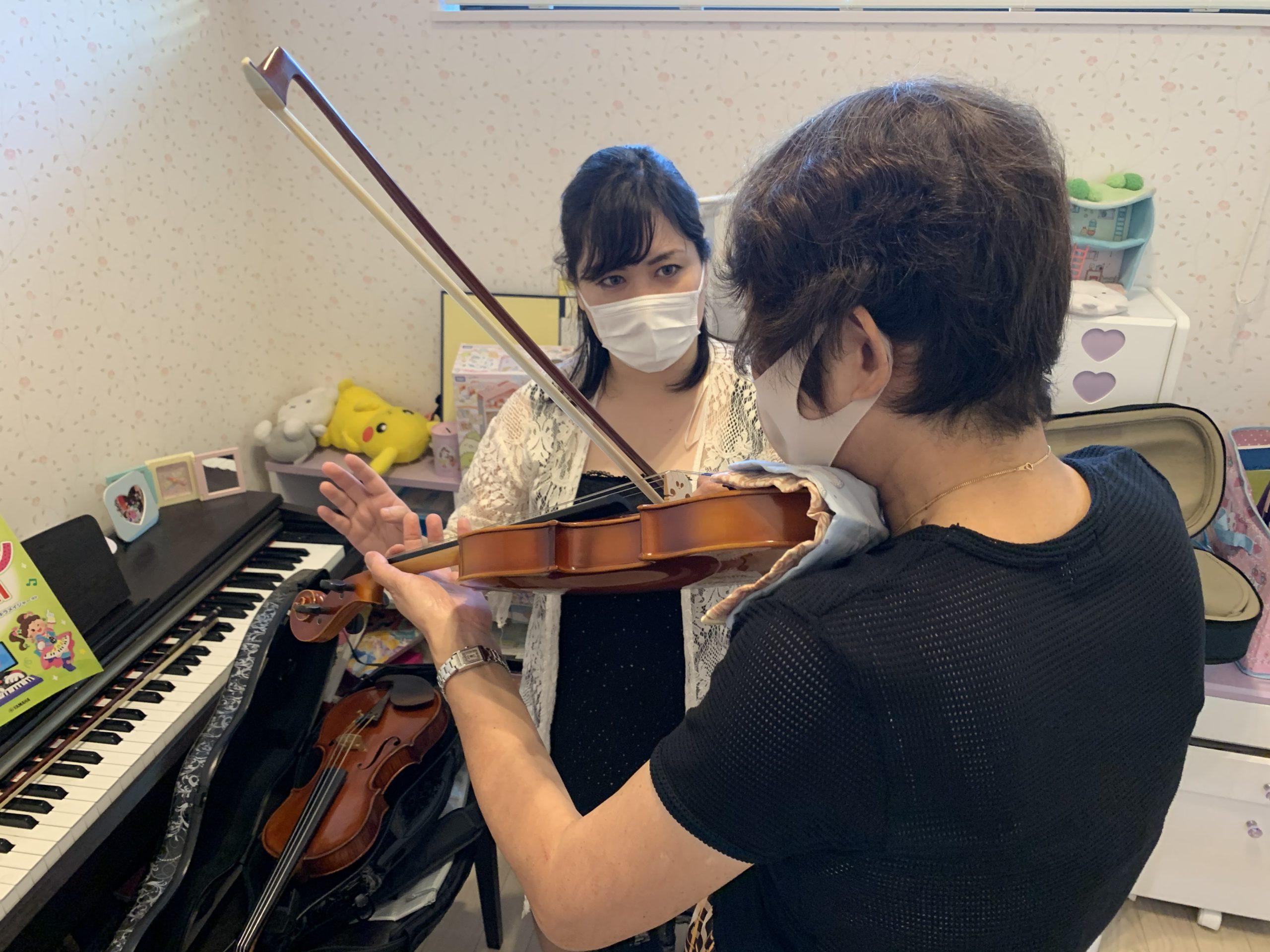 中山寺バイオリン&ピアノ教室の体験レポ