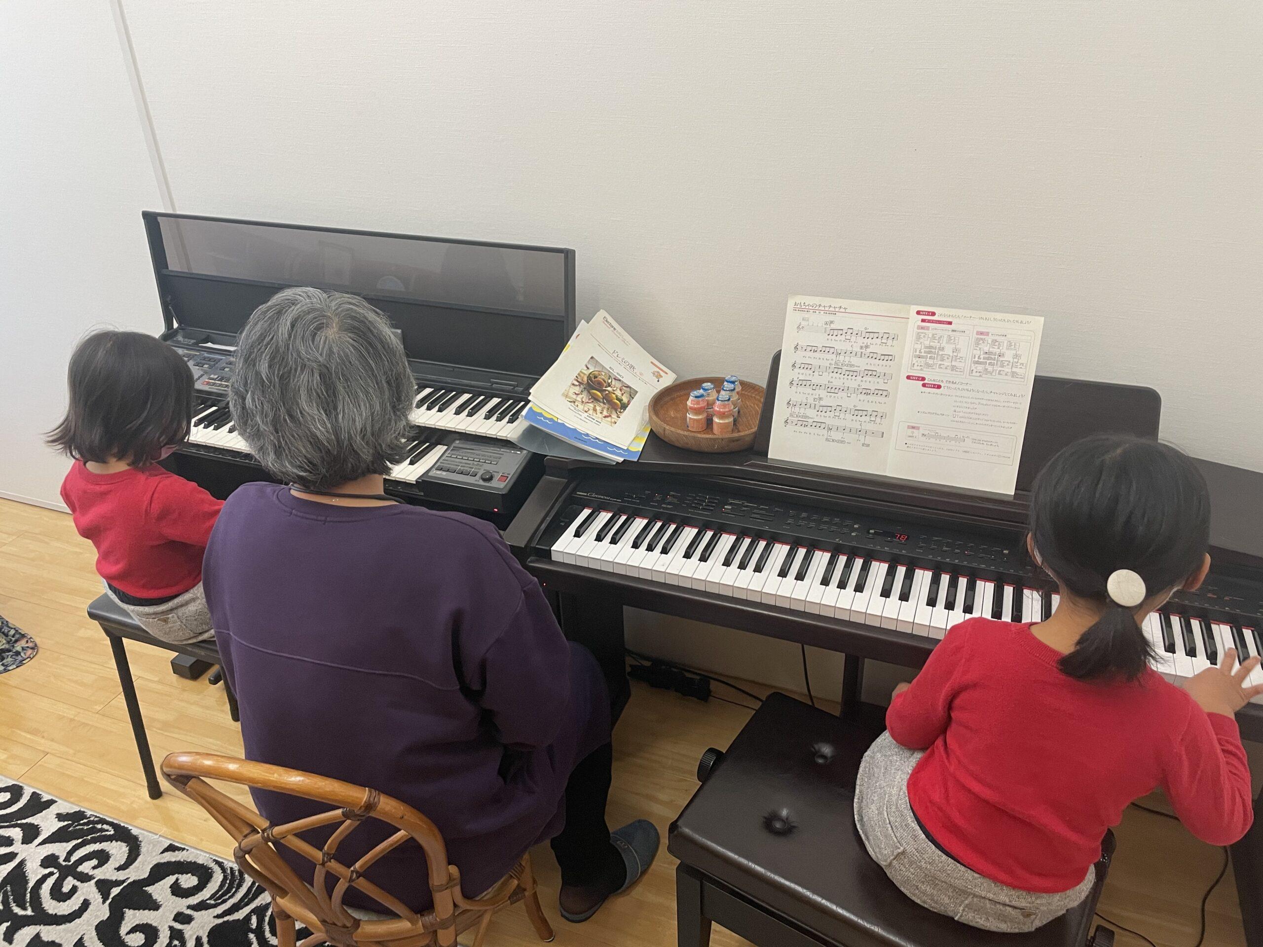 星田ピアノ教室の出張体験レポ