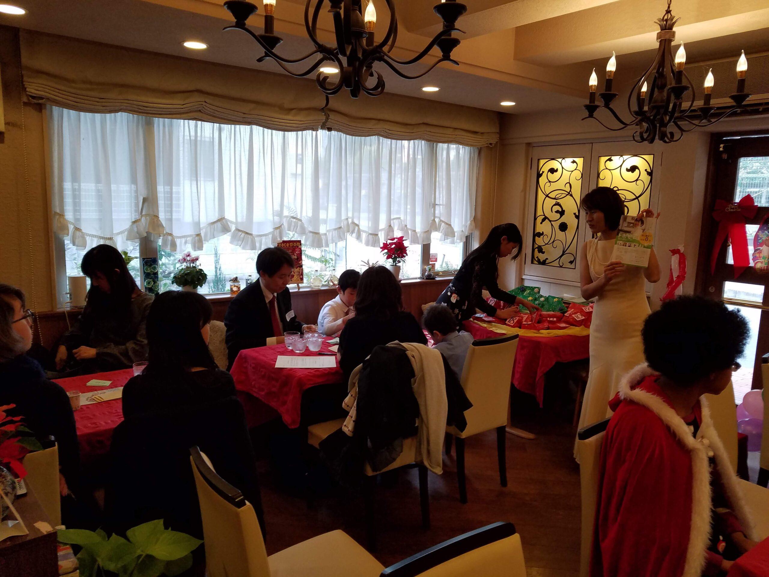 大津英語教室の「クリスマスパーティー2019」