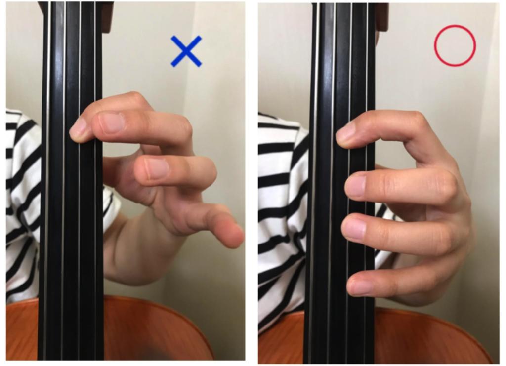 左手の省エネな指使い