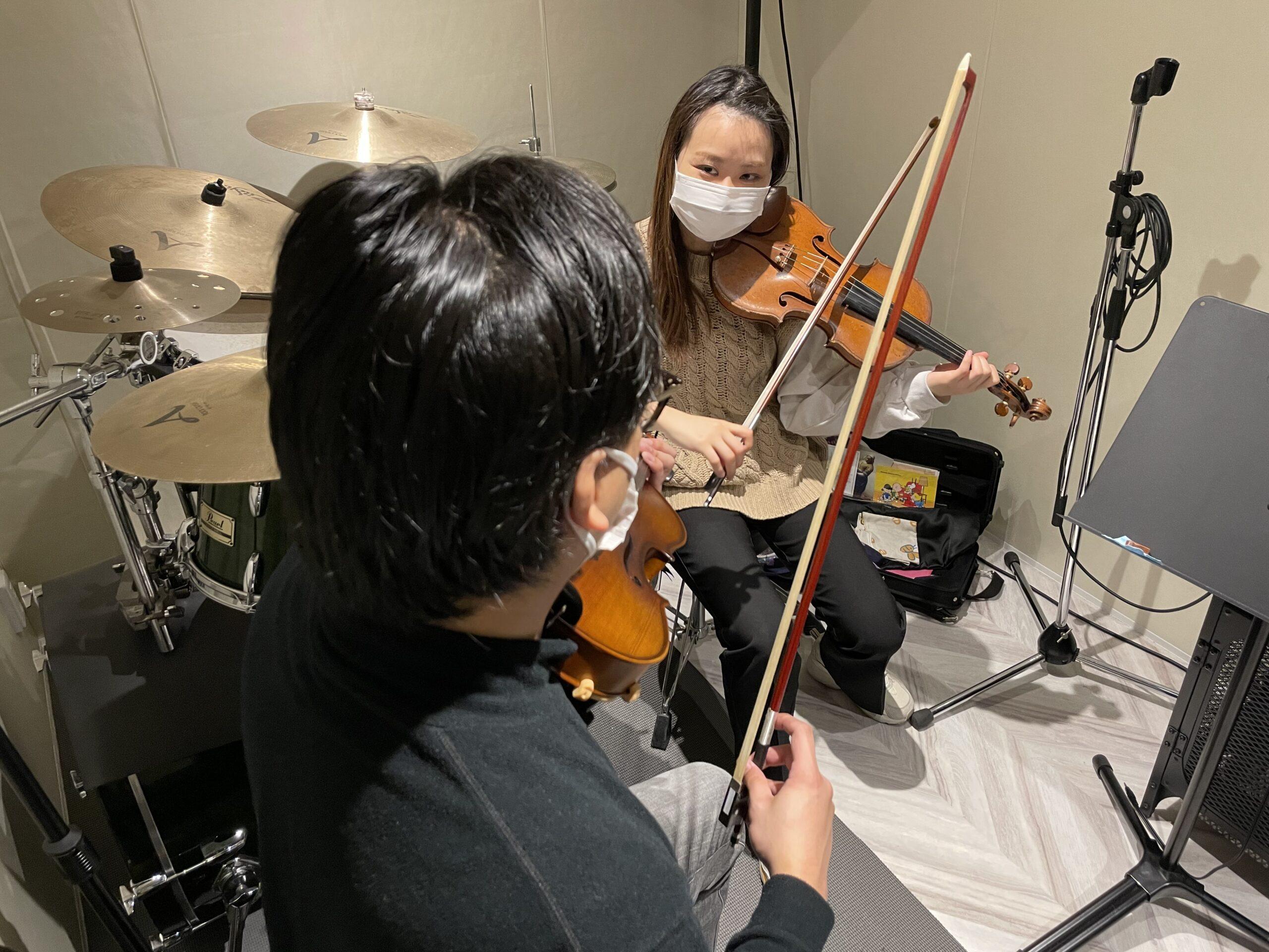 天満バイオリン教室の体験レポ